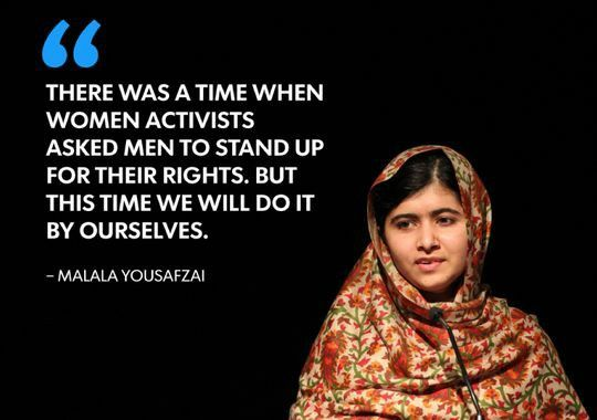 I Am Malala Quotes Awesome 10 Best I Am Malala Images On Pinterest  Malala Yousafzai Quotes