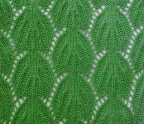 Leaves Knit Stitch Pattern