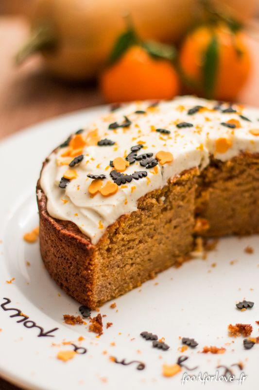 butternut cake -gâteau au potiron