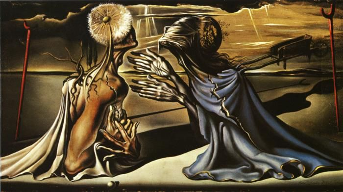 salvador dali tristan and isolde | Tristan and Isolde by Dali