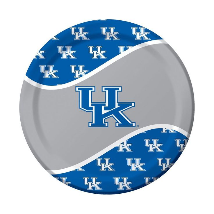 Univ of Kentucky 9 inch Round Dinner Plates/Case of 96