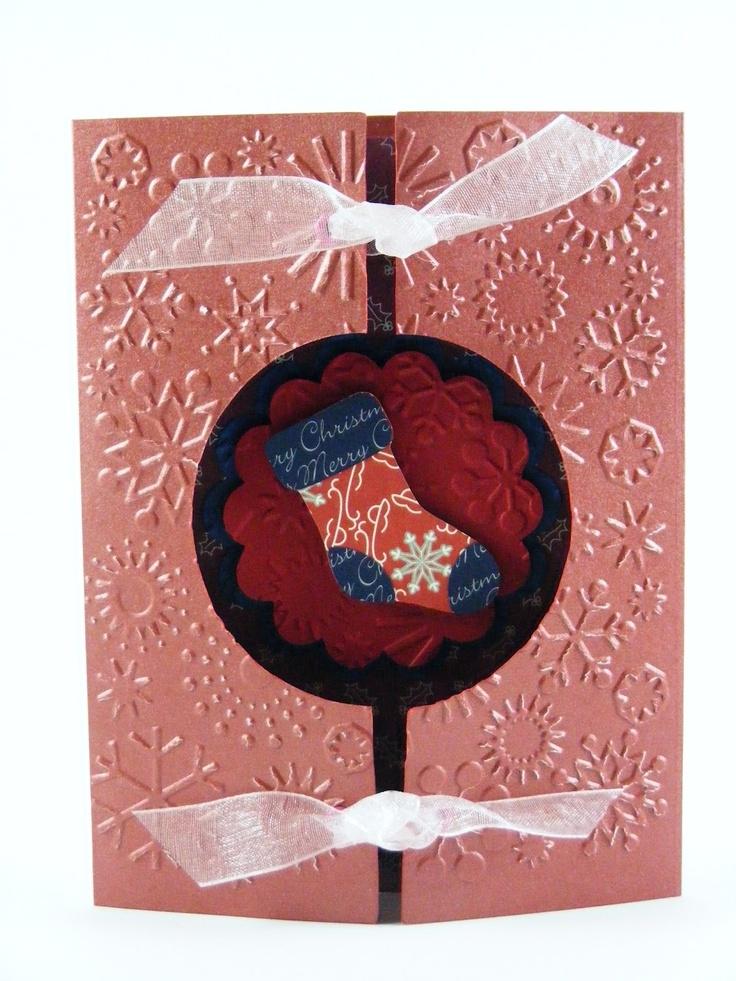 Karon's Krafty Korner-gatefold card with windowChristmas Cards, Cards Ideas, Beautiful Cards, First Christmas, Karon Krafty, Winter Cards, Korner Gatefold Cards, Kornergatefold Cards, Krafty Korner