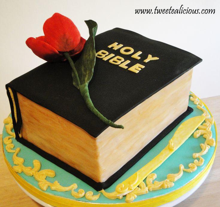 Christian Birthday Bible Cakes