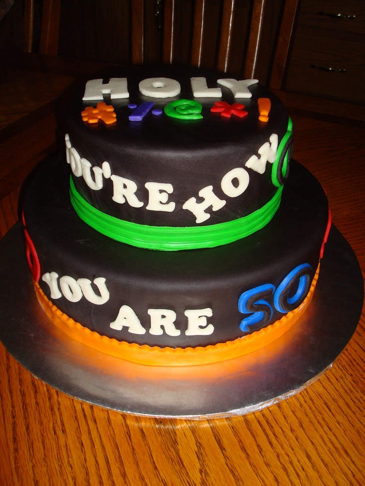 53 best images about birthday ideas on pinterest 40th for 50th birthday cake decoration ideas