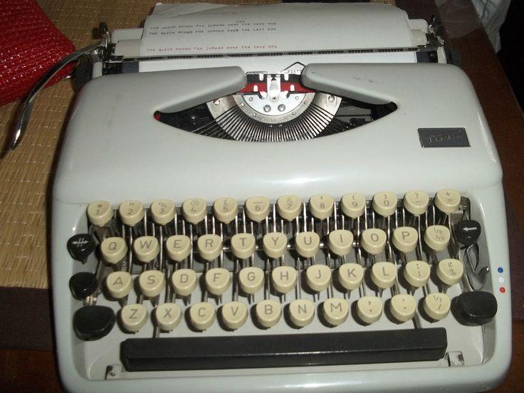 VINTAGE TYPEWRITER TIPPA S HARD CASE INSTRUCTION MANUAL EXCELLENT WORKING ORDER