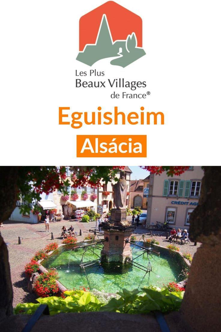#Eguisheim na #Alsácia, uma das mais belas vilas da #França