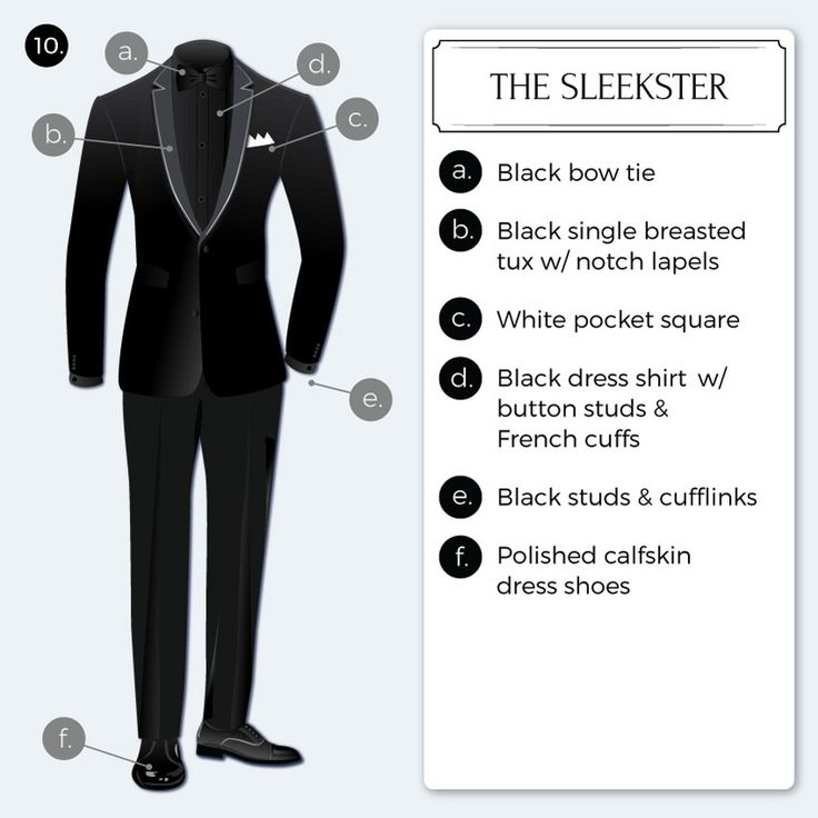 "Trendy Sleek Monochromatic Black Tie"" Look"