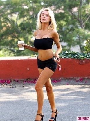 """This is what Courtney Stodden wears on a coffee run."" Her parents sure did a great job."