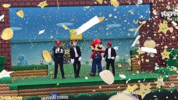 Universal Studios Japan - Miyamoto attends Super Nintendo World groundbreaking ceremony Mario Kart ride confirmed