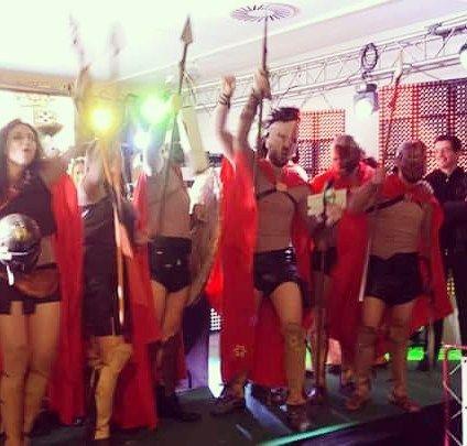 Se aproxima... #carnival #spartan #espartanos #300 #costume #fun #party