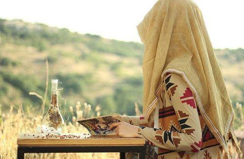 girl, hijab, and muslim resmi