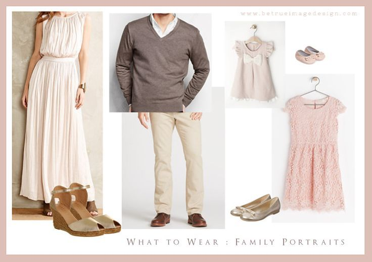 Stunning colors to wear for a spring family photo session