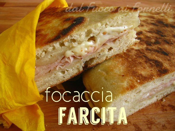 focaccia farcita con esubero_ricetta lievitato