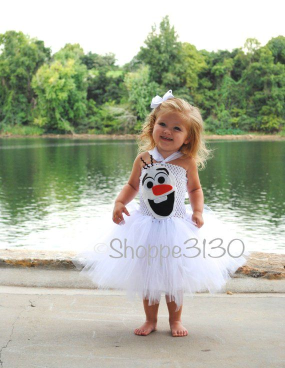 Pin for Later: Think Outside the Box With 26 Handmade Disney Halloween Costumes Olaf This Olaf tutu costume ($38) is fit for a Frozen fanatic.