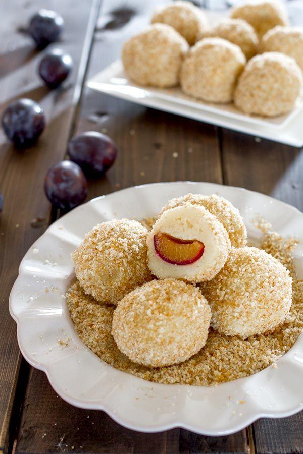 plum dumplings, a favorite childhood dessert