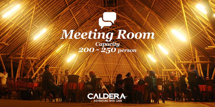Our lovely meeting room, with open view and feel to the nature of Citarik river and rice fields.
