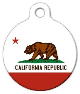 California Flag - Custom Pet ID Tag for Dogs and Cats - Dog Tag Art *** See this great product.