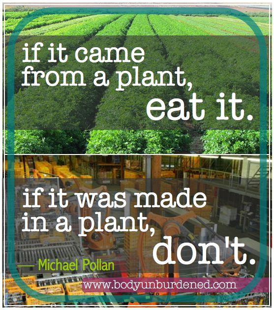 Michael Pollan quote. Click to see more straight-forward health and nutrition advice from Mr. Pollan.
