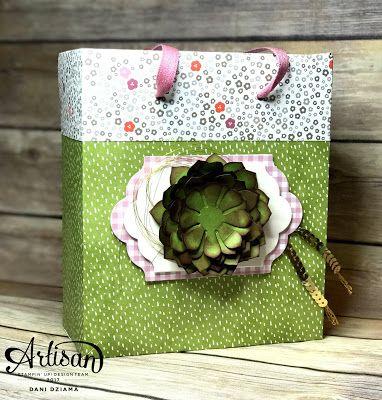Dani's Thoughtful Corner: Stampin' UP! Artisan Design Team Blog Hop- Oh So Succulent Gift Set
