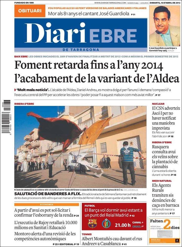 Diari Ebre, de Tarragona