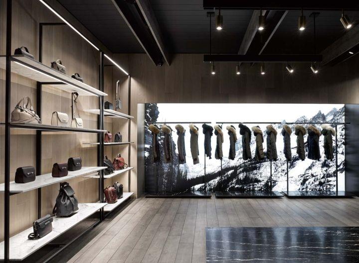 Mackage Flagship Store By Burdifilek Montreal Canada Retail Design Blog