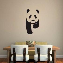 Vinyl Wall Art Panda