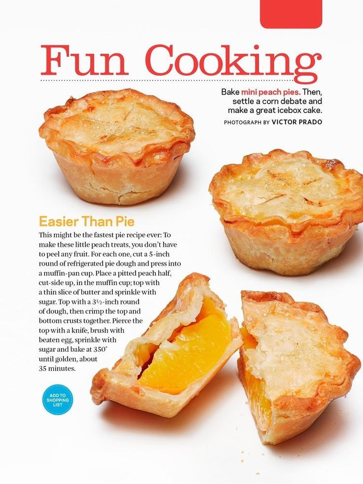 Mini peach pies I made these tonight. Diced my peaches because they ...