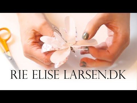 Rie Elise Larsen Tændstiksommerfugl - YouTube