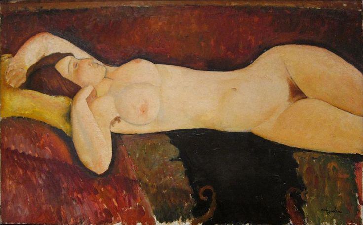 Amedeo Modigliani - Le Grand Nu - Amedeo Modigliani — Wikipédia