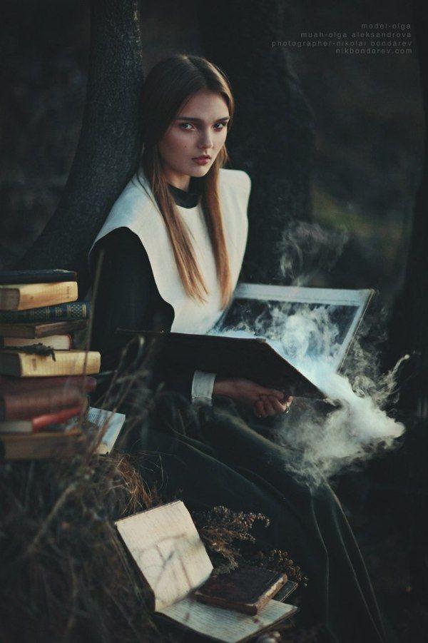 Witch Of Salem By Nikolai Bondarev