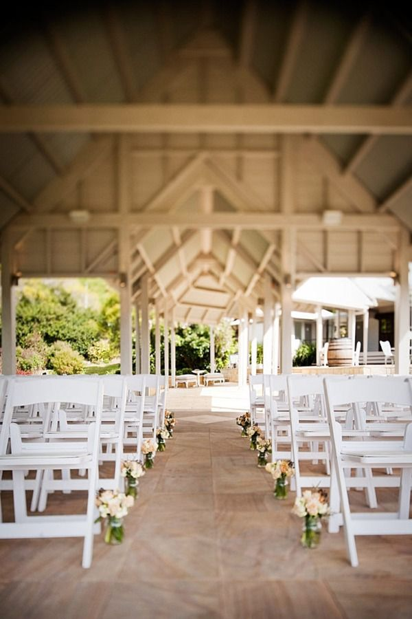 Outdoor wedding area at Maleny Manor :)