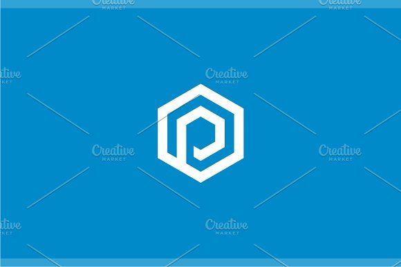 Letter P Logo by yopie on @creativemarket