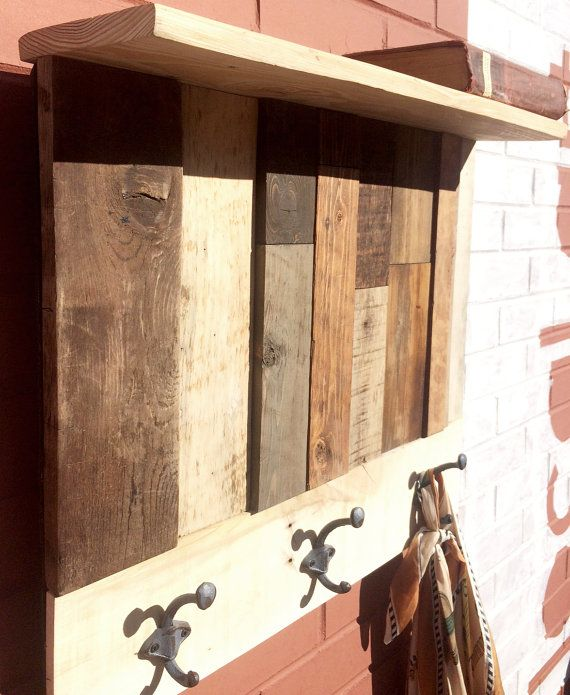 Reclaimed Pallet Coat Rack. Pallet Coat RacksReclaimed Wood ProjectsColorado  SpringsRecycled ... - 17 Best Images About Reclaimed Wood Projects On Pinterest
