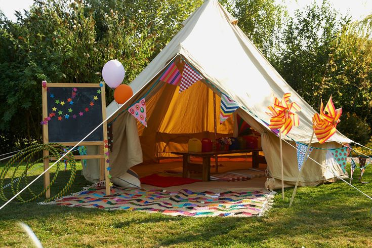 The Little Top Bell Tents, Furnishings, Fun & Games to Entertain Children at Wedding & Parties | http://www.rockmywedding.co.uk/rmw-rates-the-little-top/