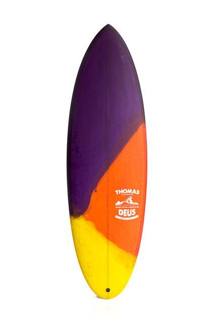 Deus Ex Machina, surfboard
