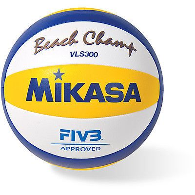 Volleyballs 159132: Mikasa Beach Champ Vls300-Official 2012 London Games Beach Volleyball BUY IT NOW ONLY: $52.74