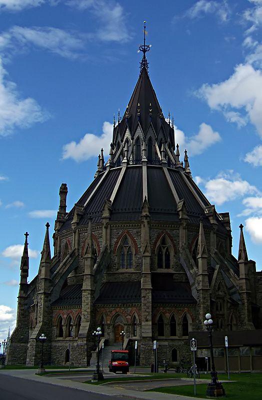 Library of Parliament, Ottawa, Canada #Ottawa #Canada #Parliament