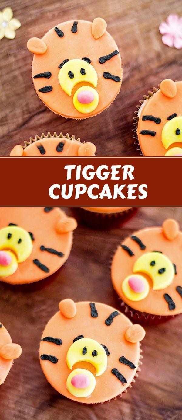 Tigger Cupcakes Recipe Fun Foods Dessert Recipes
