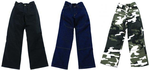 Камуфляжные штаны с кевларом