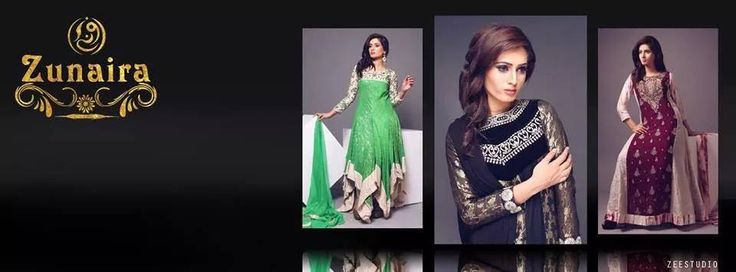 Latest Pakistani Party wear Dresses for Women 2015-16 by Zunaira Lounge Formal Collection | StylesGap.com