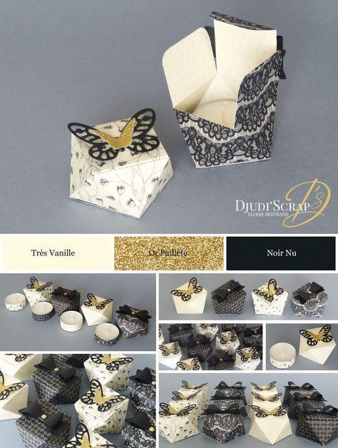 Tutoriel Petites Boîtes Diamants « Perforatrice Noeud, Framelits Papillon Audacieux »