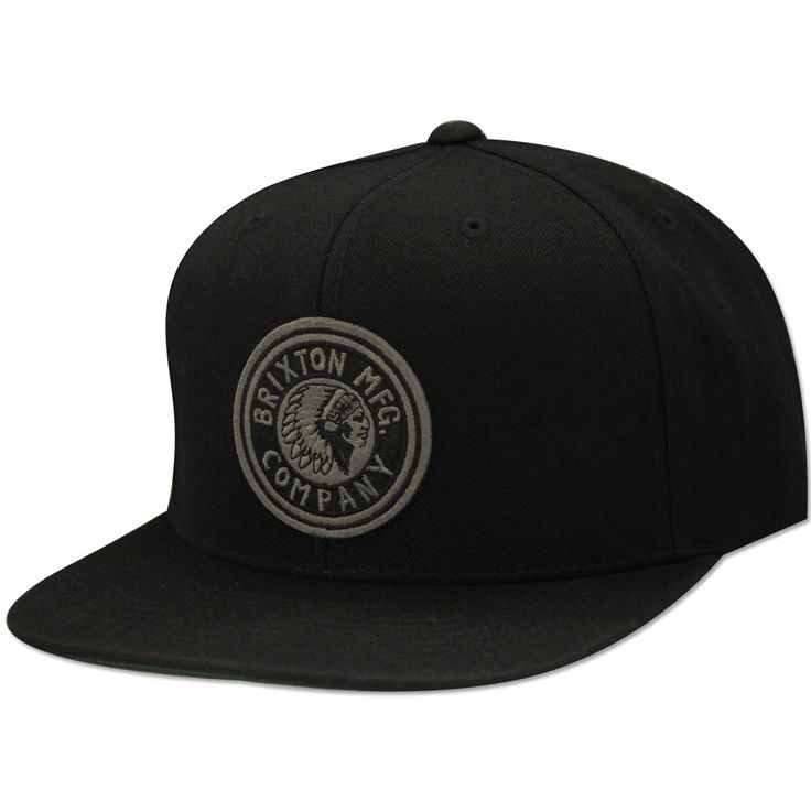 Brixton Rival Snapback Cap Black | Everythinghiphop.com
