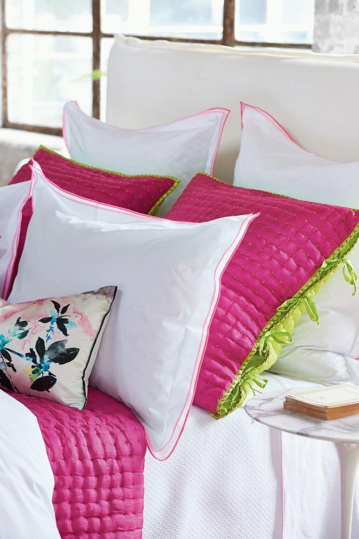 Pink bed sheet design - Astor Peony Pink Bedding Design By Designers Guild