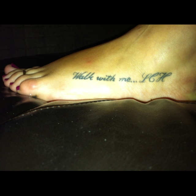 -My Tattoo In Memory Of My Mom