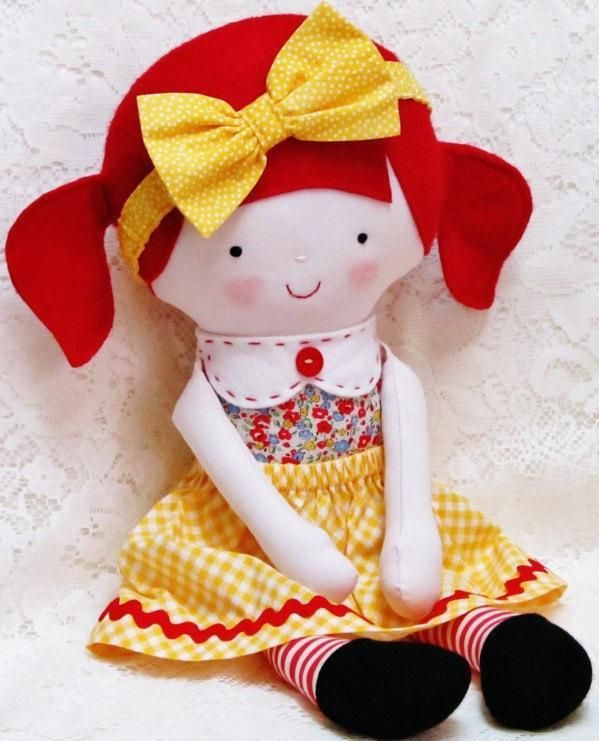 Soft Cloth Doll Softie Toy with Clothes: Toys Patterns, Clothing Dolls, Rag Dolls Patterns, Soft Dolls, Softie Pattern, Rag Doll Patterns, Soft Toys, Softies Patterns, Pdf Patterns
