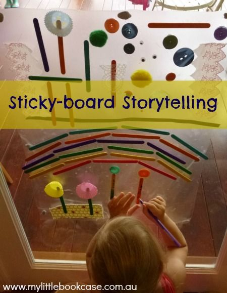 Using loose parts to build and tell stories via My Little Bookcase