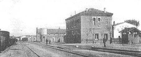 Estación de Ejea de los caballeros, Zaragoza