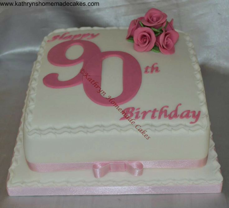 Cake Decorating Ideas For A 90 Year Old : 17 Best images about birthday cakes on Pinterest Pretty ...