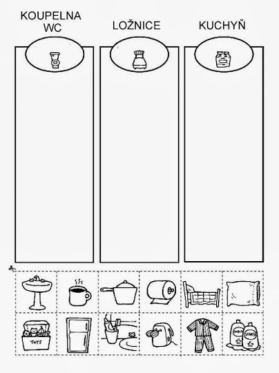 PL - Koupelna WC, ložnice, kuchyň