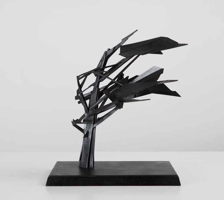 Wim Botha - Maquette for Blastwave (2012)